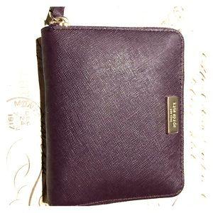 kate spade Bags - Kate Spade Wallet Darci Laurel Way in Plum